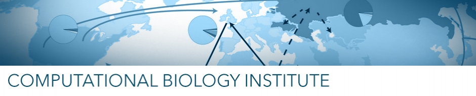 Computational biology institute banner image